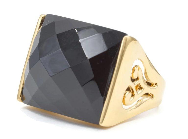 Ringified dropship rings black gold